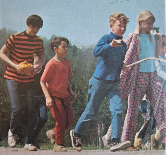 Kids on the Move: Miles for Millions Walkathon, 1969