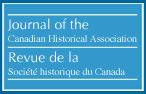 Logo de Journal of the Canadian Historical Association