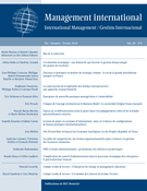 Couverture de Volume 20, numéro 4, été 2016, p. 12-193, Management international