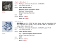 Search results, showing thumbnails, collection links, full text highlighting, navigable metadata, and outward links to objects housed in the Poetess Archive.