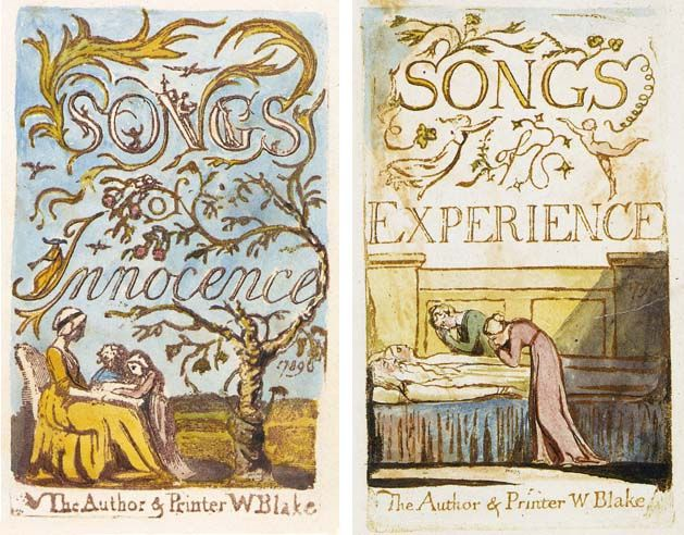 Songs of Innocence and of Experience copy C, plates 3 and 29Used with permission.