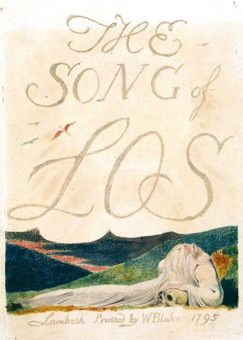 The Song of Los copy B, plate 2Used with permission.