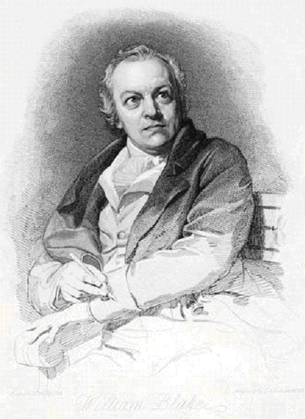 Schiavonnetti's engraved portrait of Blake