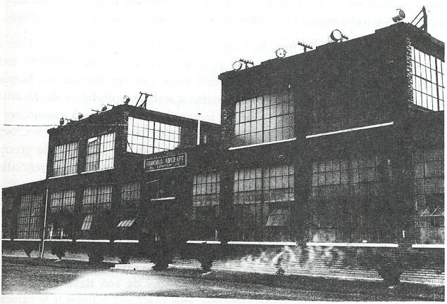L'usine de la Fairchild Aircraft of Canada Ltd. à Longueuil vers 1930