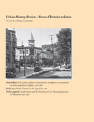 Couverture de Volume 41, numéro 2, spring 2013, p. 3-54, Urban History Review