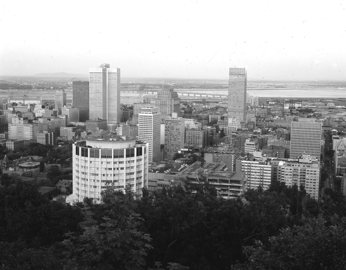 The skyline of modern montreal: Place Ville-Marie redefined the city's skyline in the 1960s