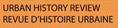 Logo de Urban History Review